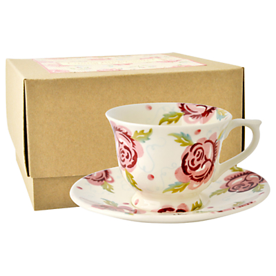 Emma Bridgewater Rose & Bee Coffee Cup & Saucer