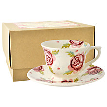 Buy Emma Bridgewater Rose & Bee Coffee Cup & Saucer Online at johnlewis.com