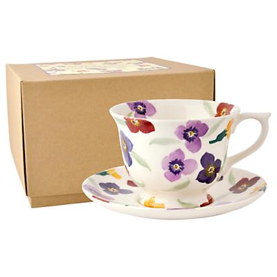 Emma Bridgewater Wallflower Large Cup and Saucer Set