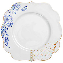 Buy PiP Studio Royal Pip 17cm Plate, White/ Gold Online at johnlewis.com