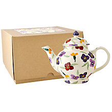 Buy Emma Bridgewater Wallflower Teapot, 4 Cup Online at johnlewis.com