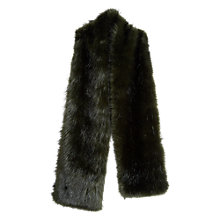 Buy Hobbs Gabriella Faux Fur Scarf Online at johnlewis.com