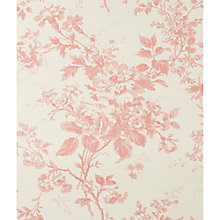 Buy Cabbages & Roses Alderney Wallpaper, Raspberry Online at johnlewis.com
