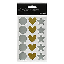 Buy John Lewis Wrap Stickers, Pack Of 60 Online at johnlewis.com