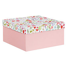 Buy John Lewis Floral Meadow Box, Large Online at johnlewis.com