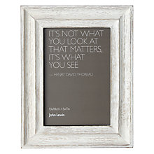 "Buy John Lewis Coastal Table Photo Frame, 5 x 7"" (13 x 18cm) Online at johnlewis.com"