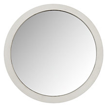 Buy John Lewis Coastal Porthole Mirror, White, 41cm Online at johnlewis.com