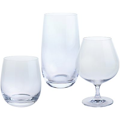 "Dartington Crystal ""Triple Tipple"" Glasses, Gift Set, Set of 3"