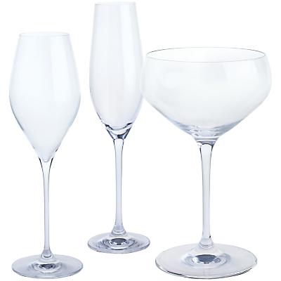 "Dartington Crystal ""Fizz Fizz Fizz"" Glasses, Gift Set, Set of 3"