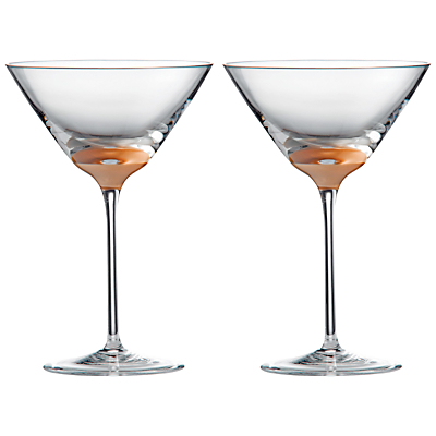 Wedgwood Arris Martini Glass, Set of 2