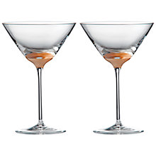 Buy Wedgwood Arris Martini Glass, Set of 2 Online at johnlewis.com
