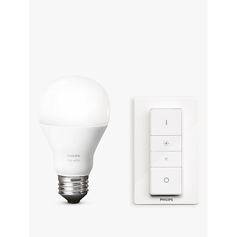 Buy Philips Hue White Led Wireless Dimming Kit John Lewis