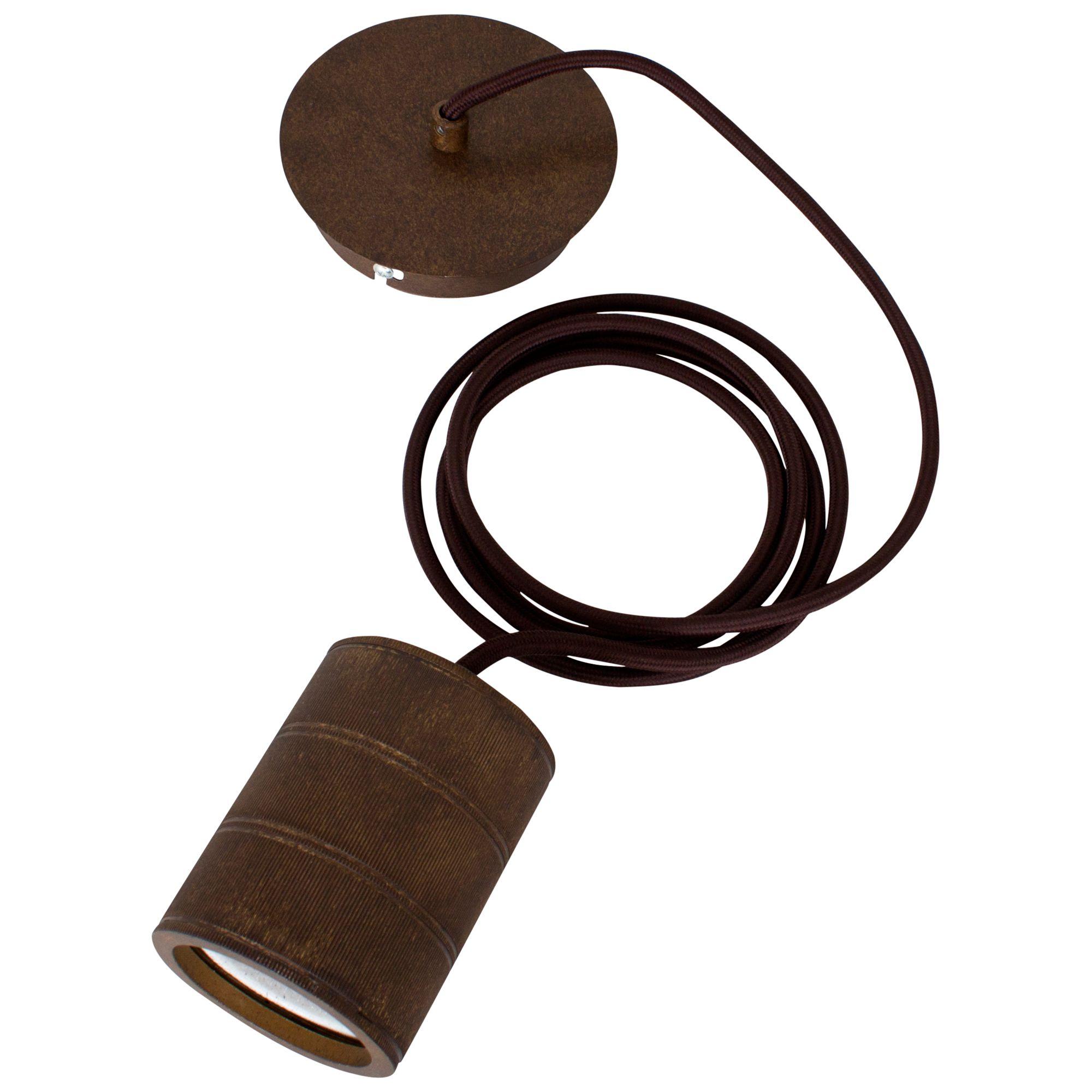 Calex Calex E40 XXL Retro Pendant Cord, Antique Bronze