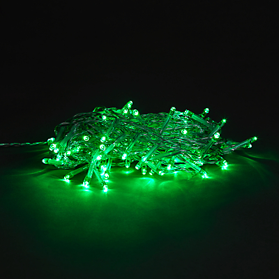 Think Gadgets 160 LED Outdoor Green Pin Line Lights