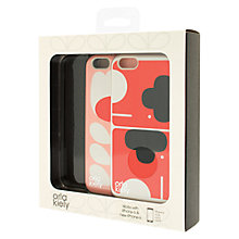 Buy Orla Kiely Elephant and Tulip Stem Cases for iPhone 6, Pack of 2, Multi Online at johnlewis.com