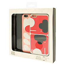 Buy Orla Kiely Elephant and Tulip Stem Cases for iPhone 6+, Pack of 2, Multi Online at johnlewis.com