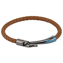 Buy Ted Baker Leather Hook Bracelet Online at johnlewis.com