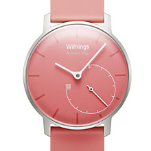 Buy Withings Activité Pop Activity & Sleep Tracking Watch, Pink Online at johnlewis.com