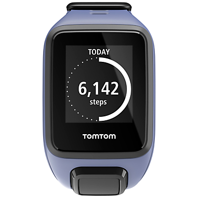 TomTom Spark Music GPS Fitness Watch, Purple, Small