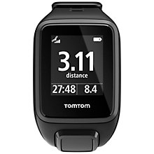 Buy TomTom Spark GPS Fitness Watch, Black Online at johnlewis.com