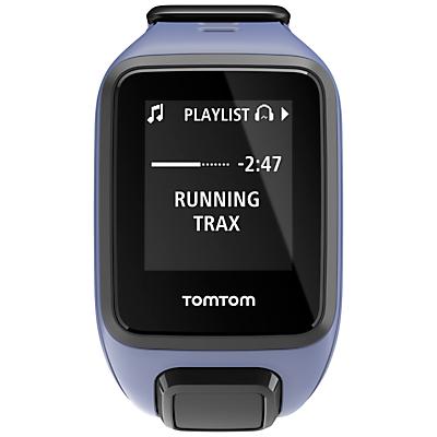 TomTom Spark Cardio & Music GPS Fitness Watch, Purple Haze, Small