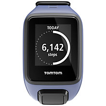 Buy TomTom Spark GPS Fitness Watch, Purple Haze, Small Online at johnlewis.com