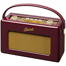 Buy ROBERTS Revival RD60 DAB Digital Radio, Royal Burgundy, Exclusive to John Lewis Online at johnlewis.com