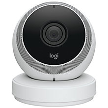 Buy Logitech Circle HD Wireless Bluetooth Wi-Fi Smart Home Camera Online at johnlewis.com