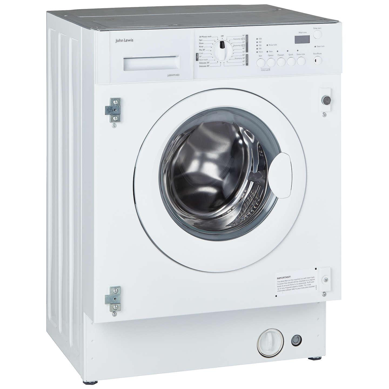 John Lewis JLBIWM1403 Integrated Washing Machine, 7kg Load