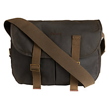 Buy Barbour Thornproof Tarras Bag, Olive Online at johnlewis.com