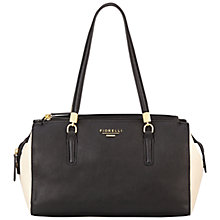 Buy Fiorelli Saffron East/West Tote, Monochrome Online at johnlewis.com
