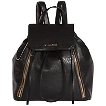 Buy Calvin Klein Nora Backpack, Black Online at johnlewis.com