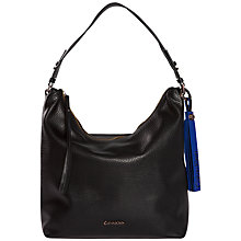 Buy Calvin Klein Nora Hobo Bag, Black Online at johnlewis.com
