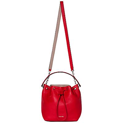 Calvin Klein Mia Mini Drawstring Hobo Bag