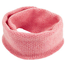 Buy Jigsaw Junior Looped Scarf, Pink Online at johnlewis.com