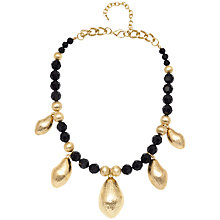 Buy Adele Marie Bead and Gold Nut Charm Necklace Online at johnlewis.com