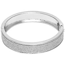 Buy Adele Marie Glitter Hinged Bangle Online at johnlewis.com