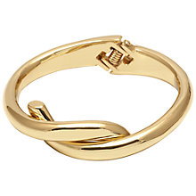 Buy Adele Marie Cross Over Hinged Bracelet, Gold Online at johnlewis.com