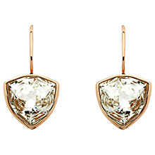 Buy Finesse Swarovski Crystal Trilliant Hook Earrings Online at johnlewis.com