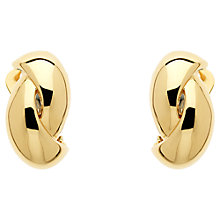 Buy Monet Twist Clip-On Earrings Online at johnlewis.com