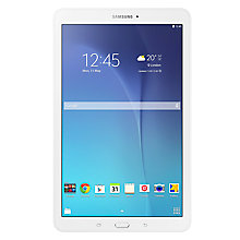 "Buy Samsung Galaxy Tab E Tablet, Quad-core, Android, 9.6"", 8GB, Wi-Fi Online at johnlewis.com"