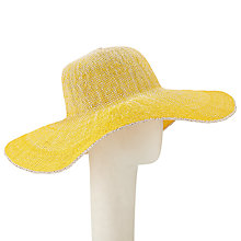 Buy John Lewis Ombre Floppy Sun Hat, Yellow Online at johnlewis.com