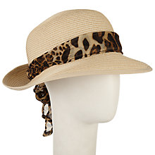 Buy John Lewis Turn Up Brim Sun Hat, Cream Online at johnlewis.com