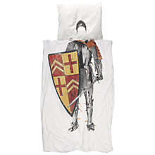 Buy Snurk Knight Single Knight Single Duvet Cover and Pillowcase Set Online at johnlewis.com