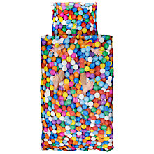 Buy Snurk Ball Pit Single Duvet Cover and Pillowcase Set Online at johnlewis.com