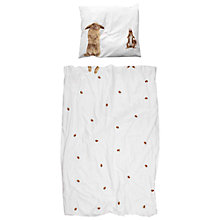 Buy Snurk Woodland Friends Single Duvet Cover and Pillowcase Set Online at johnlewis.com