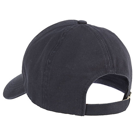 Buy Barbour Cascade Sports Baseball Cap, One Size, Navy Online at johnlewis.com