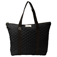Buy Et DAY Birger et Mikkelsen Gweneth Quilt Bag, Black Online at johnlewis.com