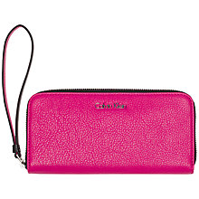 Buy Calvin Klein Joyce Large Zip Around Purse Online at johnlewis.com