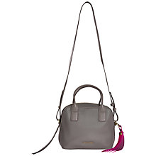 Buy Calvin Klein Nora Satchel, Grey Online at johnlewis.com